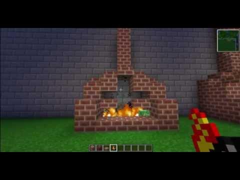 Как в Майнкрафте сделать камин