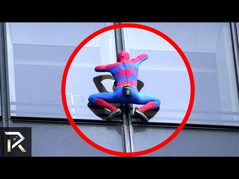 Thumbnail: Real Life Superheroes CAUGHT Saving People!