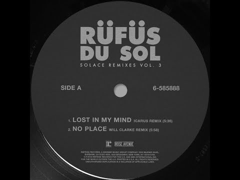 RÜFÜS DU SOL ●●  Lost In My Mind (Icarus Remix) [Official Audio]