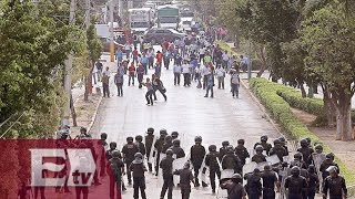 CNTE reta a la SEP y maestros se movilizan en cuatro estados/ Atalo Mata
