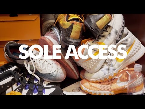Inside the Phoenix Suns Locker Room | Sole Access