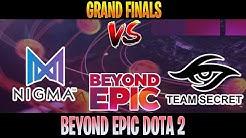 Nigma vs Secret ALL GAME | Bo5 | Grand Final BEYOND EPIC 2020 | DOTA 2 LIVE
