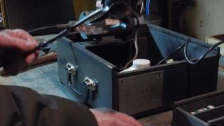 DSCN0317 Инструмент времён СССР Гравёрная машинка ГНОМ