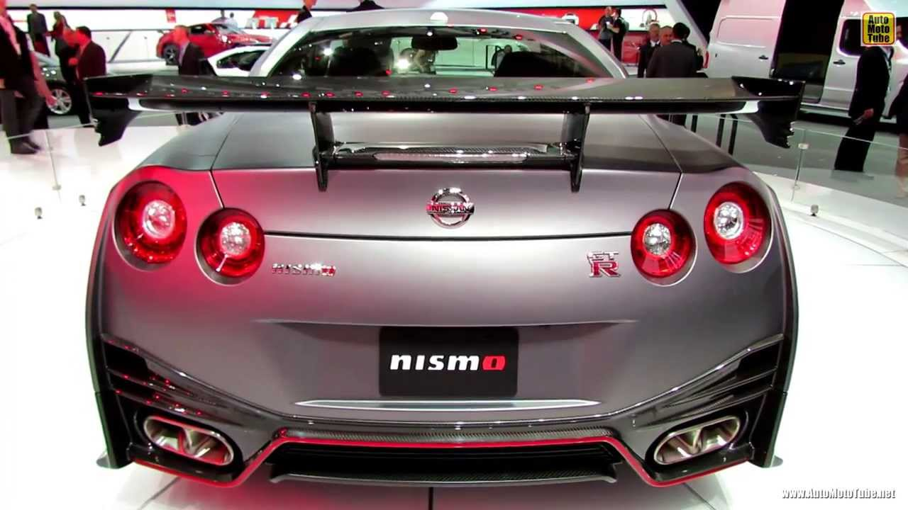 2015 Nissan GT-R Nismo - Exterior and Interior Walkaround - 2013 LA ...
