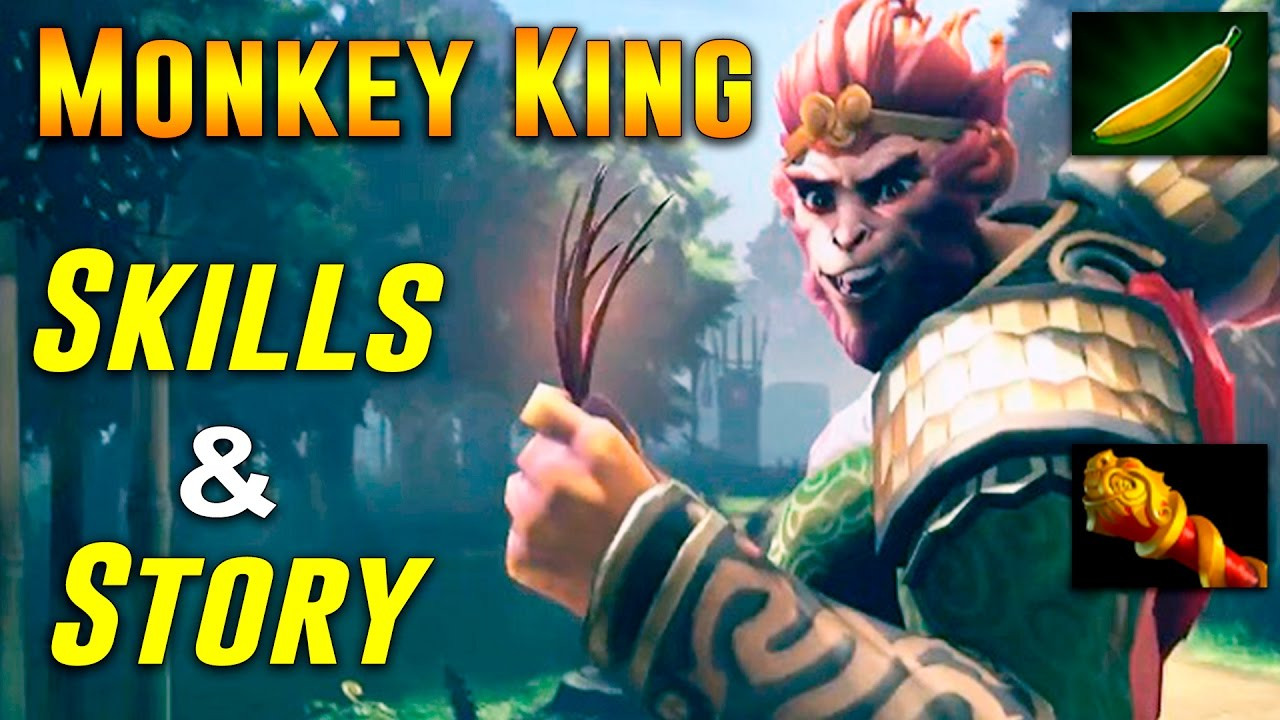 monkey king dota 2 hero skills story and release date youtube