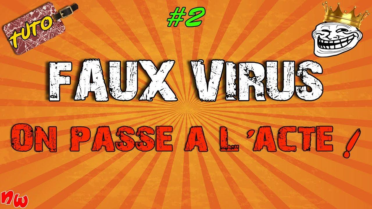 [Tuto] Faux virus flippant ! #2 | Fr