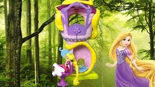 Disney Princess Little Kingdom Rapunzel's Stylin' Tower from Hasbro