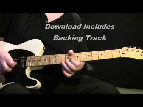 Tequila The Ventures BEST on Youtube - Guitar Lesson + Backing Track