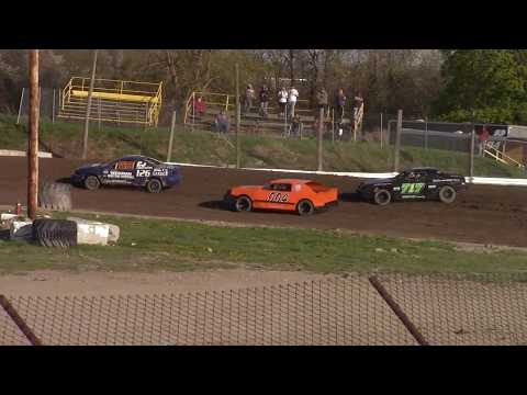 Genesee Speedway Mini Stock Heat Two 5-12-18