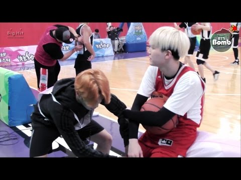 [BANGTAN BOMB] Shooting guard SUGA with cheerleader 2 Jimin