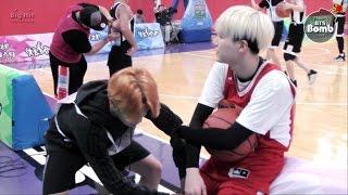 [BANGTAN BOMB] Shooting guard SUGA with cheerleader 2 Jimin -  BTS (방탄소년단)