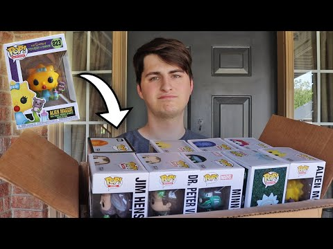 Moving ALL of my Funko Pops