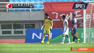 2015 K리그 챌린지 34R 강원FC vs 안산경찰청 하이라이트