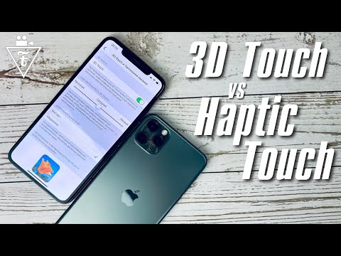 3D Touch и Haptic Touch на iPhone