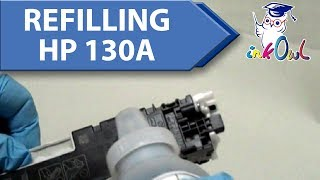 How to Refill HP 130A Cartridges for M176, M177fw (CF350A/CF351A/CF352A/CF353A)