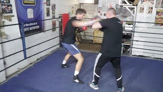 EXPLOSIVE! JAMIE COX (FULL & COMPLETE) PAD SESSION AHEAD WBA WORLD CLASH W/ GEORGE GROVES / WBSS