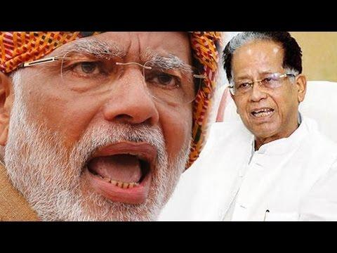 PM Modi Attacks Tarun Gogoi Says Congress Running Assam With Remote Control