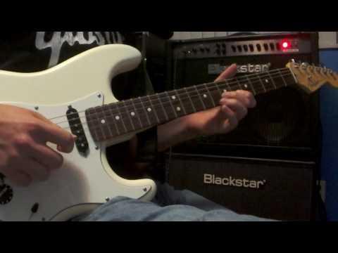 Blue Bossa guitar solo excerpt (Achim Kohl)