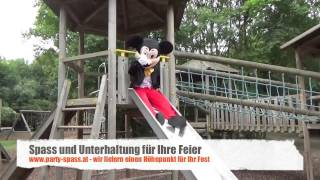 Comic Animation Mickey Party-Spass.at Kindergeburtstag Programm