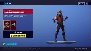 New Skin * LORD OF THE STARS * and new Dance * BATTLE OF DANCE * Fortnite Battle Royale