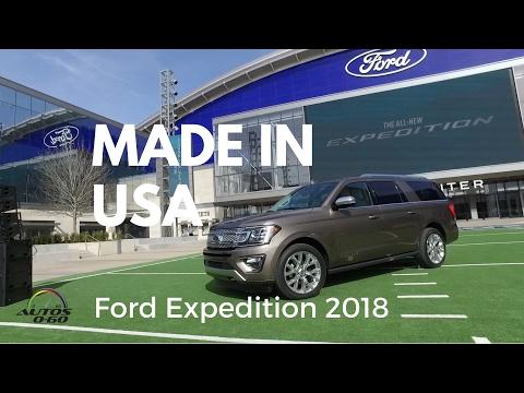 Ford Expedition 2018, conectada, inteligente, segura y lujosa