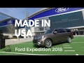 Ford Expedition 2018, conectada, inteligente, segura y lujosa