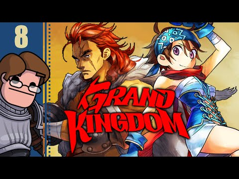 Let's Play Grand Kingdom Part 8 - THIS IS WAR!
