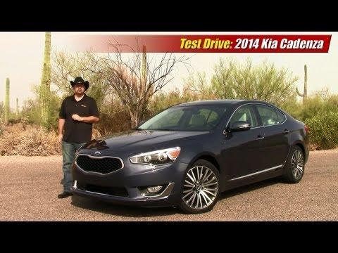 Test drive: 2014 Kia Cadenza