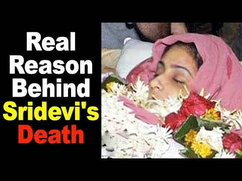 Real Reason Behind Sridevi's Death In Dubai