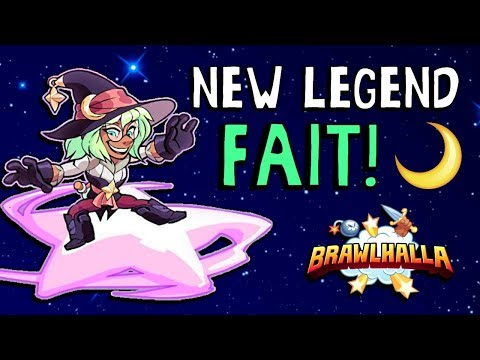 ►NEW LEGEND◄ Fait Joins Brawlhalla!! + ALL Skins