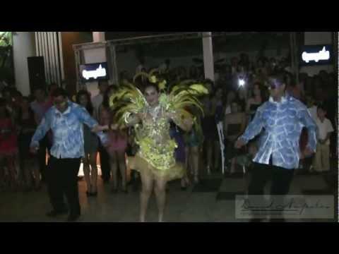 XV AÑOS LILIA IDOLINA ...Show  Espectacular     (Carnaval de Brasil  y  Salsa )