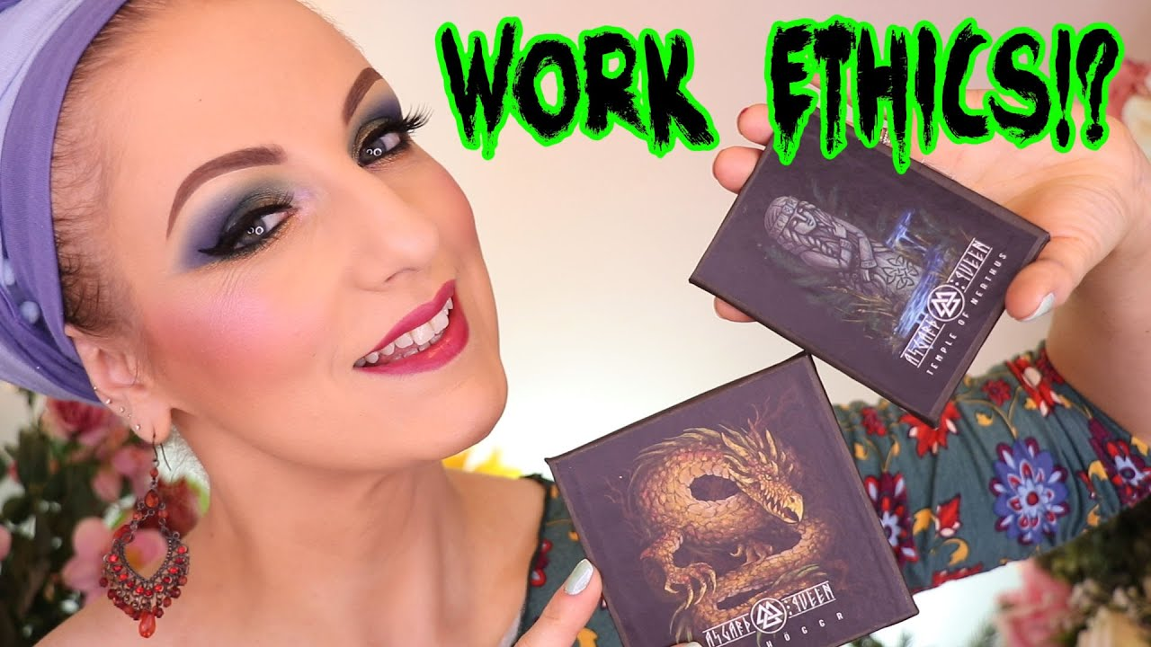 Trying all kinds of goodies from Asgard Queen Cosmetics & being chatty about life, lol
