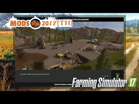 Farming Simulator 2017/ทำเหมือง/Mining & Construction Economy V 0.3 [TH]