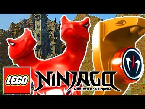 LEGO NINJAGO WARRIORS -THE VAMPIRE SNAKES ATTACK! w/ Little Lizard