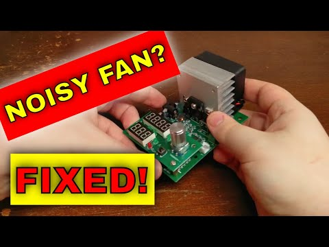 "DC constant Current Load's ""Always ON"" Fan - How to Fix it!"