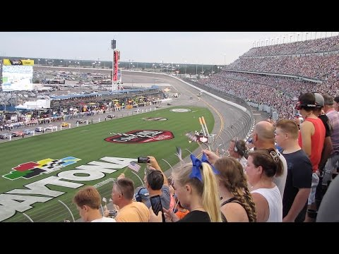 2016 Coke Zero 400 from the Stands Daytona Speedway