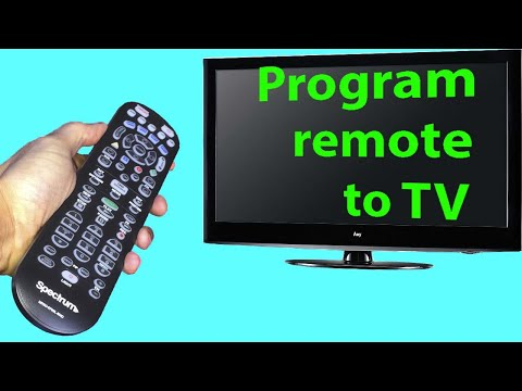 Spectrum Remote Programming To TV With Codes