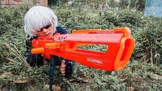 LTT Nerf Mod : Silver Flash Skill Nerf Guns Revenge Crime Sinister Biological Weapons
