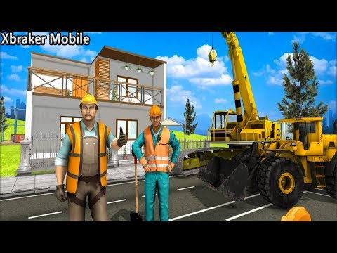 Modern Home Design & House Construction - Home Builder Games Android Gameplay