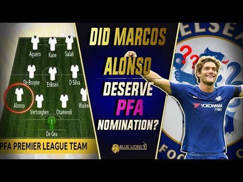 Did Marcos Alonso deserve to be in the PFA Team of the Year