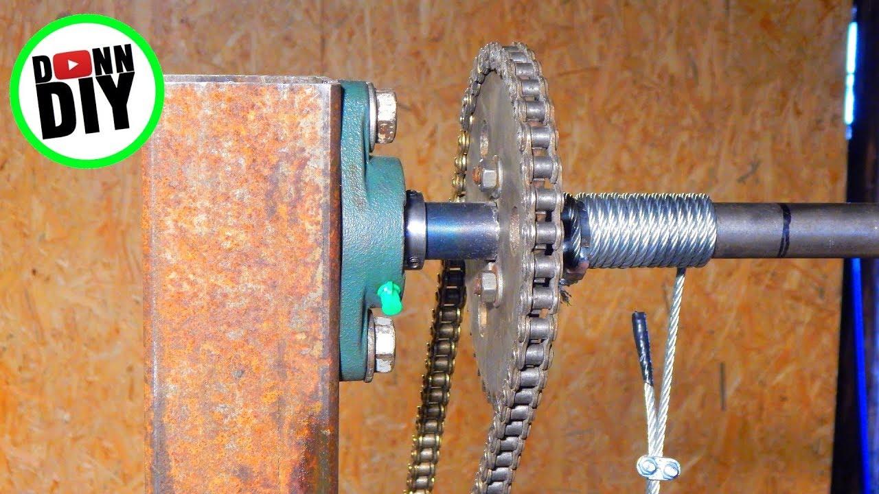 Saw Head Lifting System - Band Sawmill Build #15