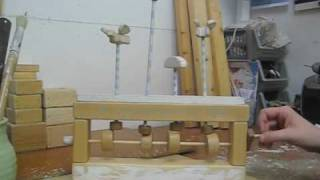 Helen Sinden's Wooden Automata 2