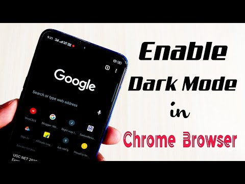 How To Enable Or Start Dark Mode Or Night Mode In Chrome Browser For Android | WepClick