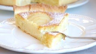 Recette De Tarte Aux Poires Et Amandes  Pear And Almond Tart Recipe
