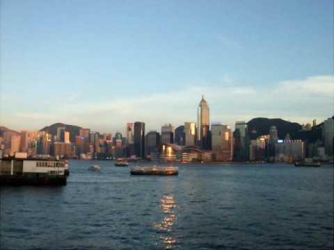 Hong Kong under Blue Sky
