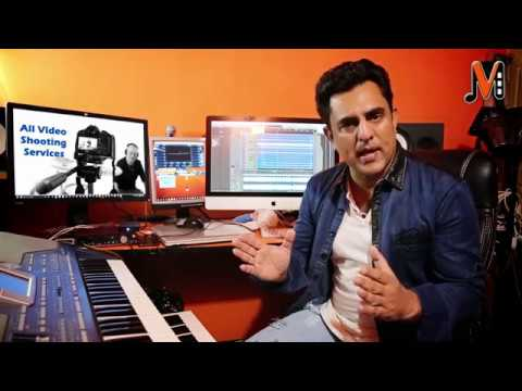 Recording with Karaoke Video Lyrics in Cubase - URDU/ Hindi/ English
