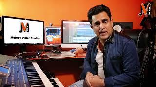 Recording with Karaoke Video Lyrics in Cubase - URDU/ Hindi/ English