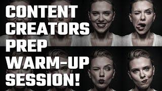 📝 Content Creators Prep Warm-Up Session!
