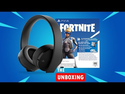 UNBOXING FORNITE NEO VERSA HEADSET AND REVIEW
