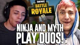 Ninja & Myth Play Duos!! - Fortnite Battle Royale Gameplay - Ninja thumbnail